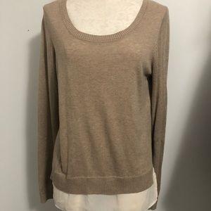 🟠 Soft cotton oversize silk hi low tunic S